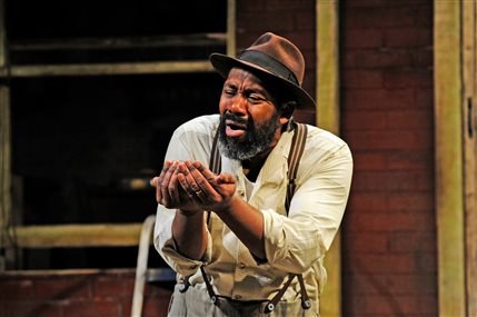 Untold Stories - Fences - Lenny Henry, photo by Nobby Clark