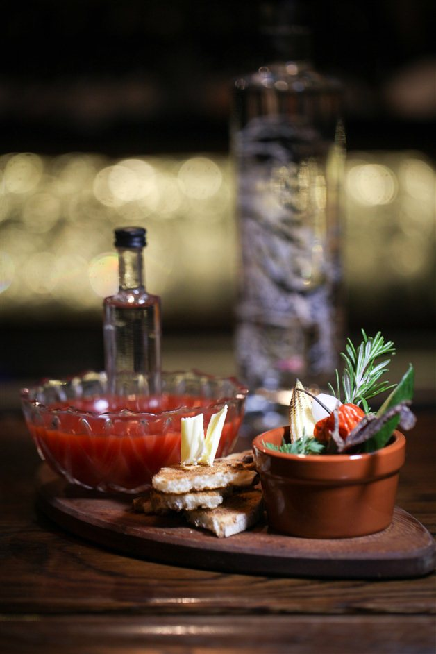 The Nightjar Bar - Bloody Mary Cocktail. Photo credit: Dan Malpass