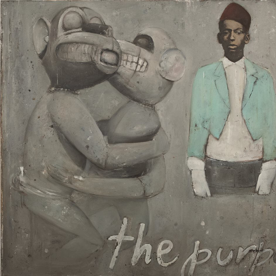 1:54 Contemporary African Art Fair - Ransome Stanley, the purpose, 2012, oil on canvas