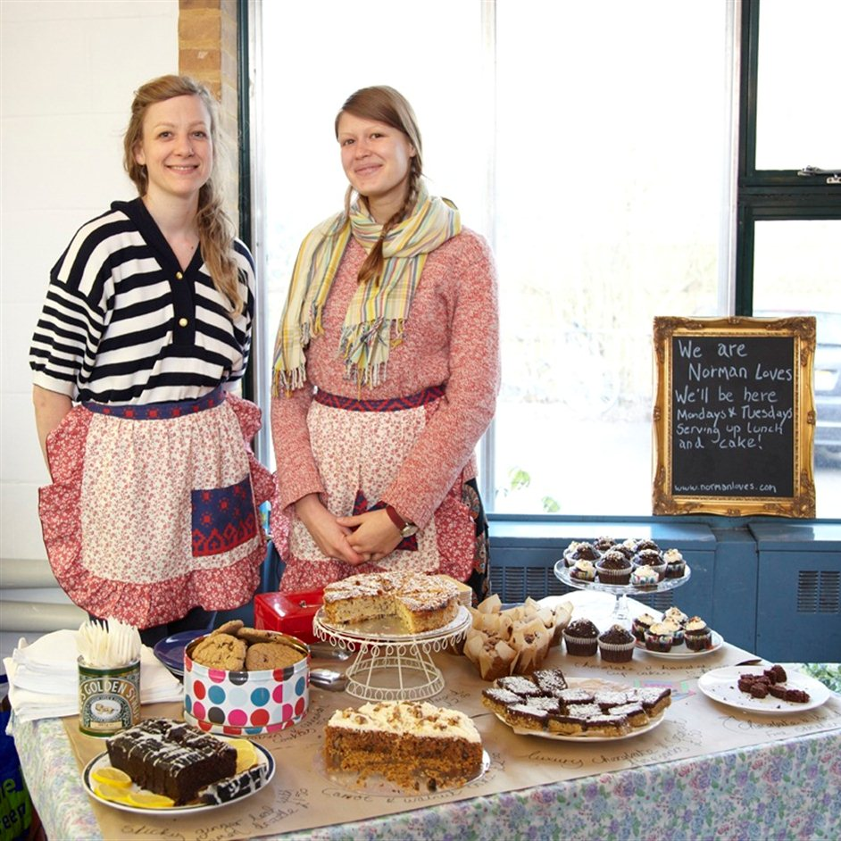 The Albert - Norman Loves will be serving homemade baked goods from The Albert