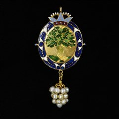 Treasures of the Royal Courts - The Barbor Jewel, England, c.1615-1625.