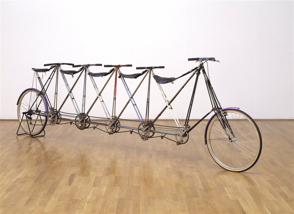 Tate Britain Commission: Simon Starling - Simon Starling, Five-Man Pedersen (Prototype No.1) 200 © Simon Starling