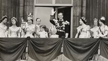 The Queen's Coronation 1953, Buckingham Palace - The Royal Family on the balcony of Buckingham Palace, 2 June, 1953 by Royal Collection Trust/All Rights Reserved