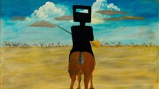 Australia - Sidney Nolan, Ned Kelly, 1946, National Gallery of Australia, Canberra