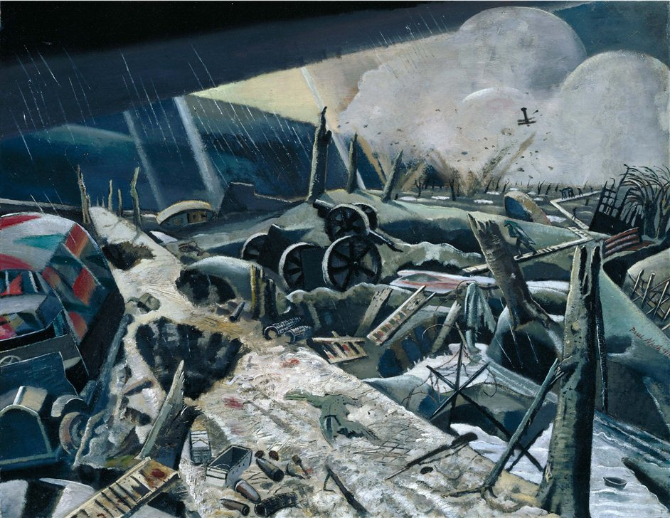 A Crisis of Brilliance - Paul Nash The Void. Photo courtesy of MBAC, Tate London.