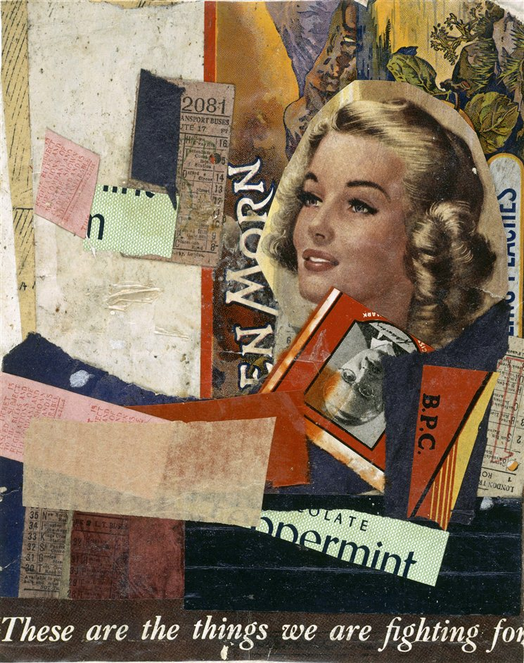 Schwitters in Britain - Kurt Schwitters, En Morn 1947 c Centre Georges Pompidou, Musee national d'art moderne, Paris  DACS 2012