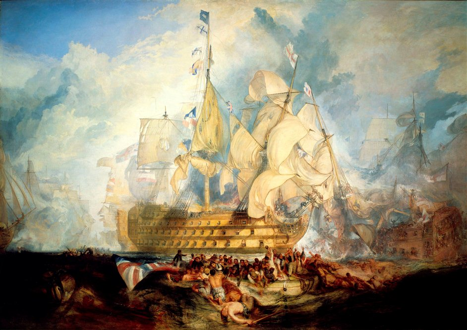 Turner and the Sea - copyright National Maritime Museum