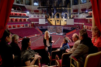 Royal Albert Hall Behind The Scenes Tour