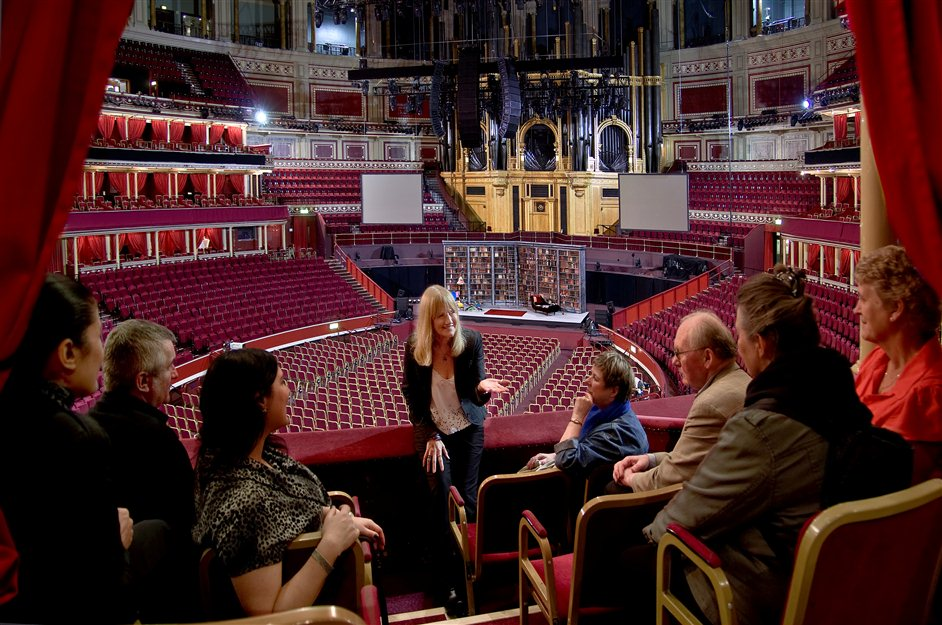 Royal Albert Hall Behind The Scenes Tour - (c) Steve Frak - Behind the Scenes Tour at Royal Albert Hall