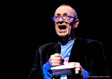 The NATYS Comedy Showcase and Awards Final - Arthur Smith, credit Angus Forbes