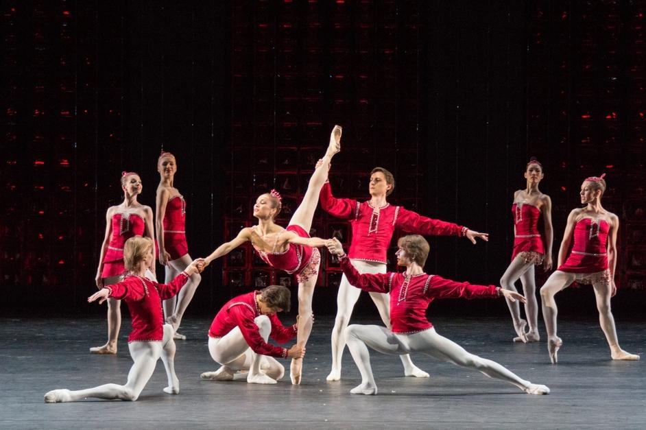 The Bolshoi Ballet: Jewels - Ekaterina Shipulina, Rubies, photo by M. Logvinov