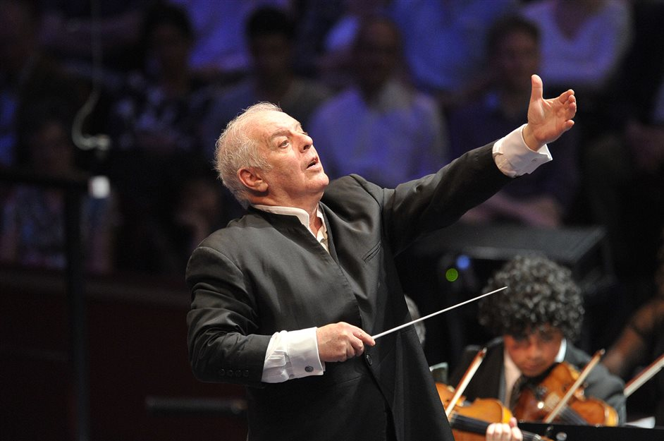 Prom 20: Wagner - Gotterdammerung - Daniel Barenboim, photo by Chris Christodoulou/BBC