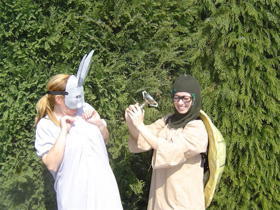 The Hare And The Tortoise: Aesop's Touring Theatre Company (Ages 2-7) - The Hare And The Tortoise: Aesop's Touring Theatre Company