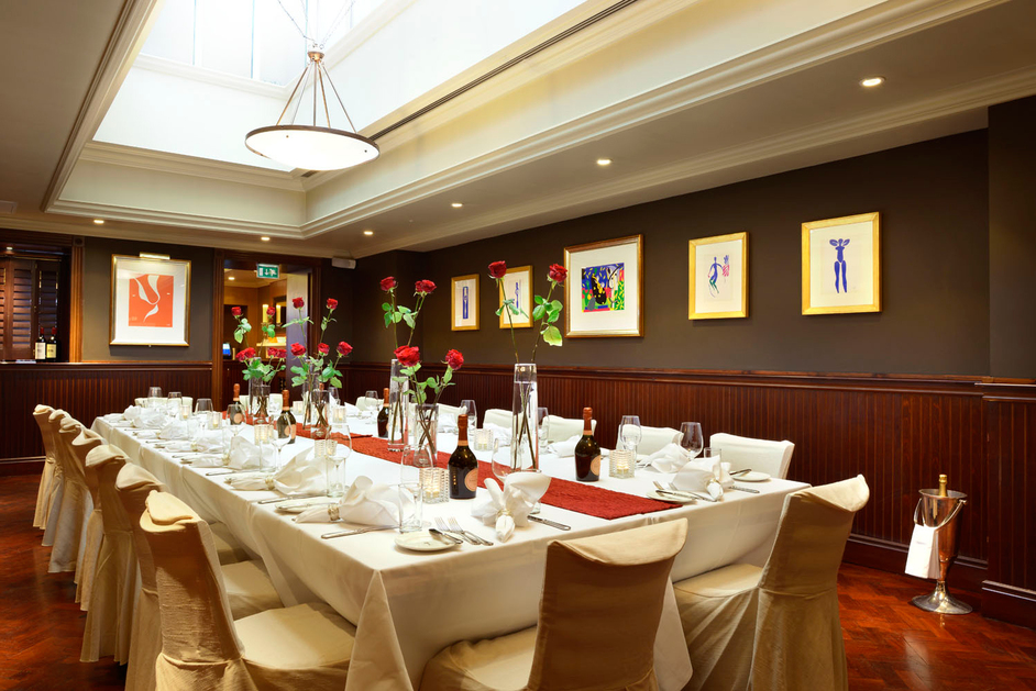 Palm restaurant london pont street london for American cuisine in london