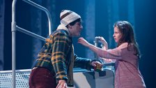 Let the Right One In - Martin Quinn and Rebecca Benson by courtesy of Dundee Rep Theatre