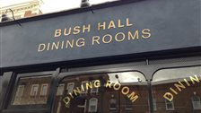 Bush Hall Dining Room - 6th June 2013