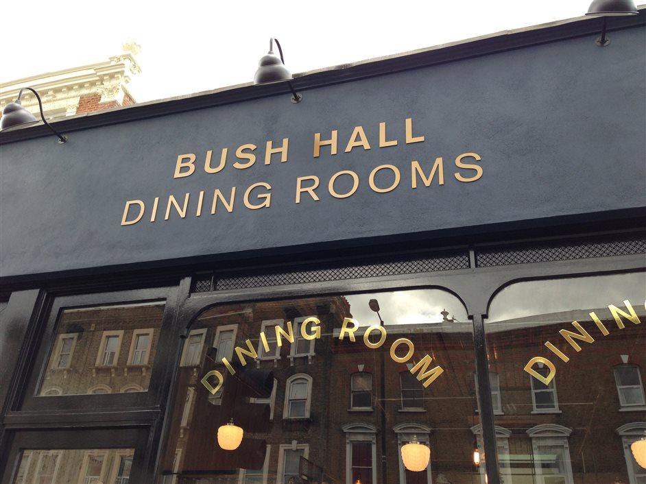 Bush Hall Dining Room