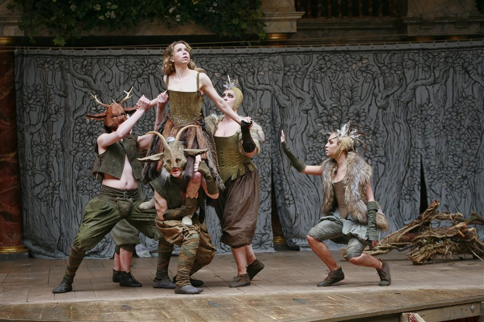 A Midsummer Night's Dream - Michelle Terry as Tatiana, photo by John Haynes