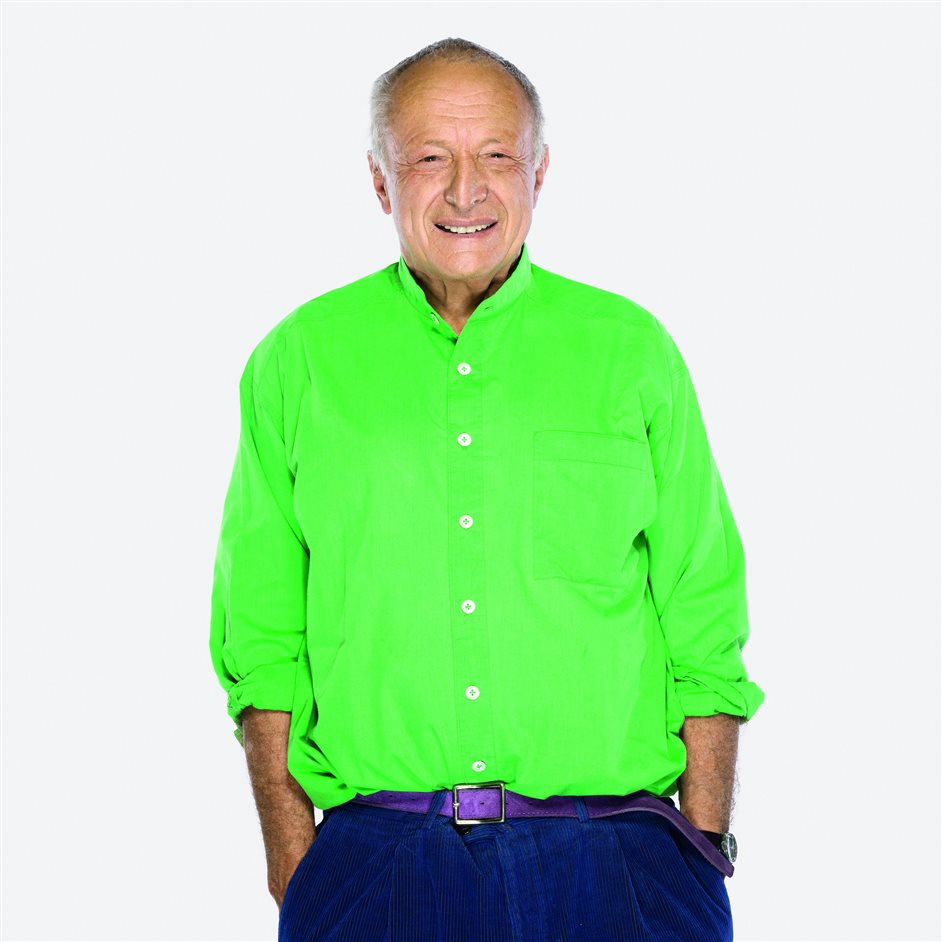 Richard Rogers RA: Inside Out - Richard Rogers © Andrew Zuckerman