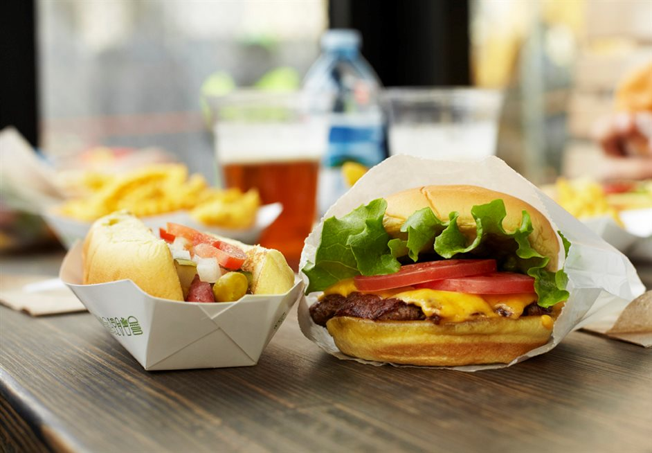 Shake Shack Tottenham Court Road