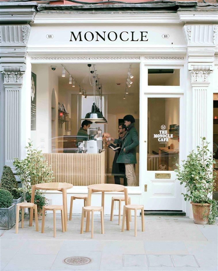 Αποτέλεσμα εικόνας για The Monocle Café london pics
