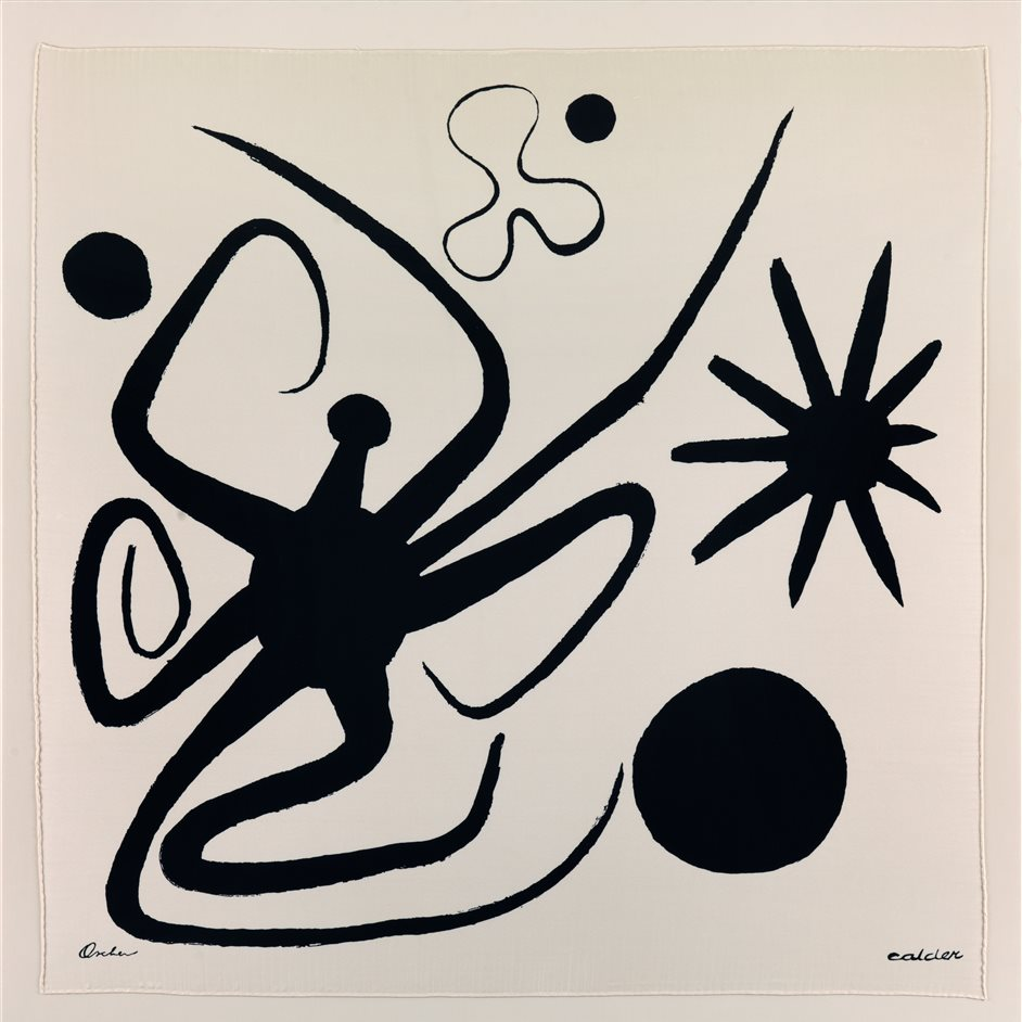 London Art Fair - Alexander Calder, La Mer, 1947, courtesy of Whitford Fine Art