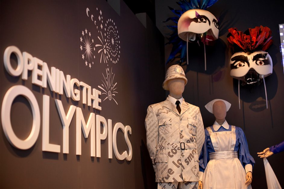 Opening the Olympics - Image courtesy of David Parry/PA
