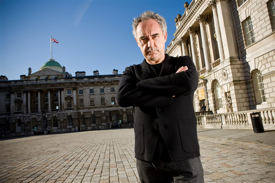 ElBulli: Ferran Adria and The Art Of Food - Ferran Adrià at Somerset House © Sam Mellish