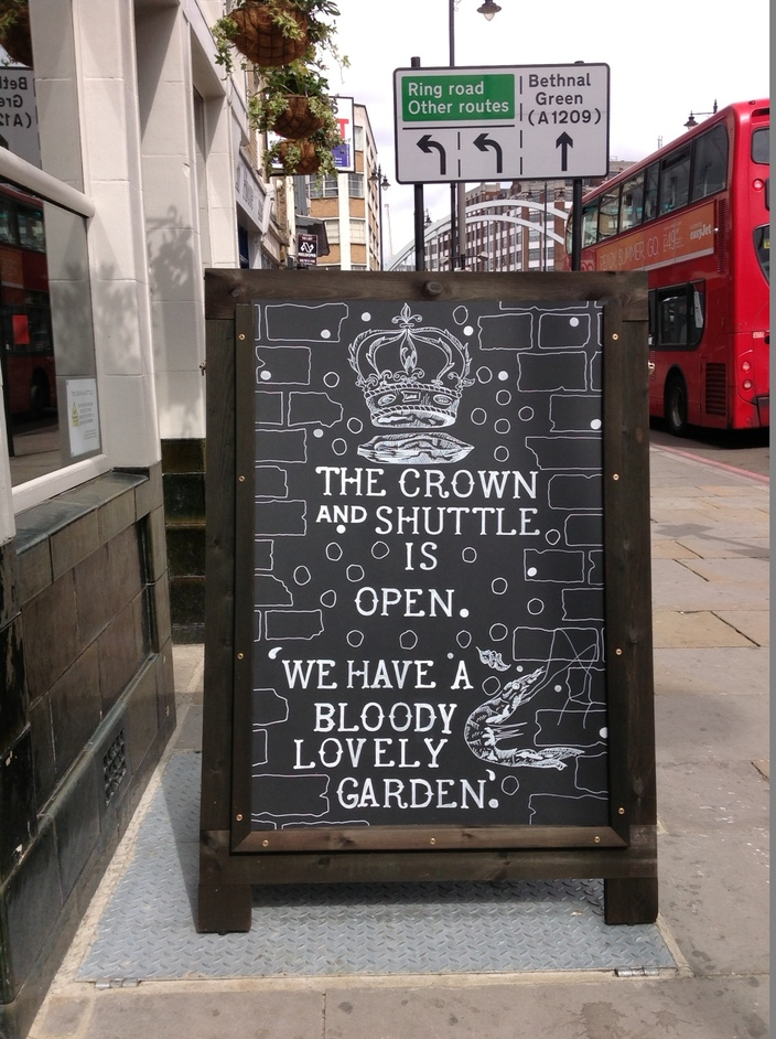 The Crown and Shuttle