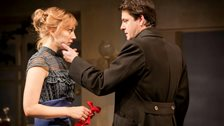 A Doll's House transfers to Duke of York's Theatre  - Hattie Morahan (Nora) and Dominic Rowan (Torvald) by Johan Persson
