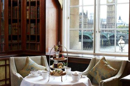 Afternoon Tea at The Library Lounge