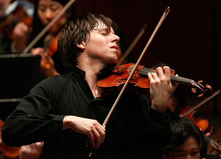 The BBC Proms 2014 - Joshua Bell. Photo by Chris Lee