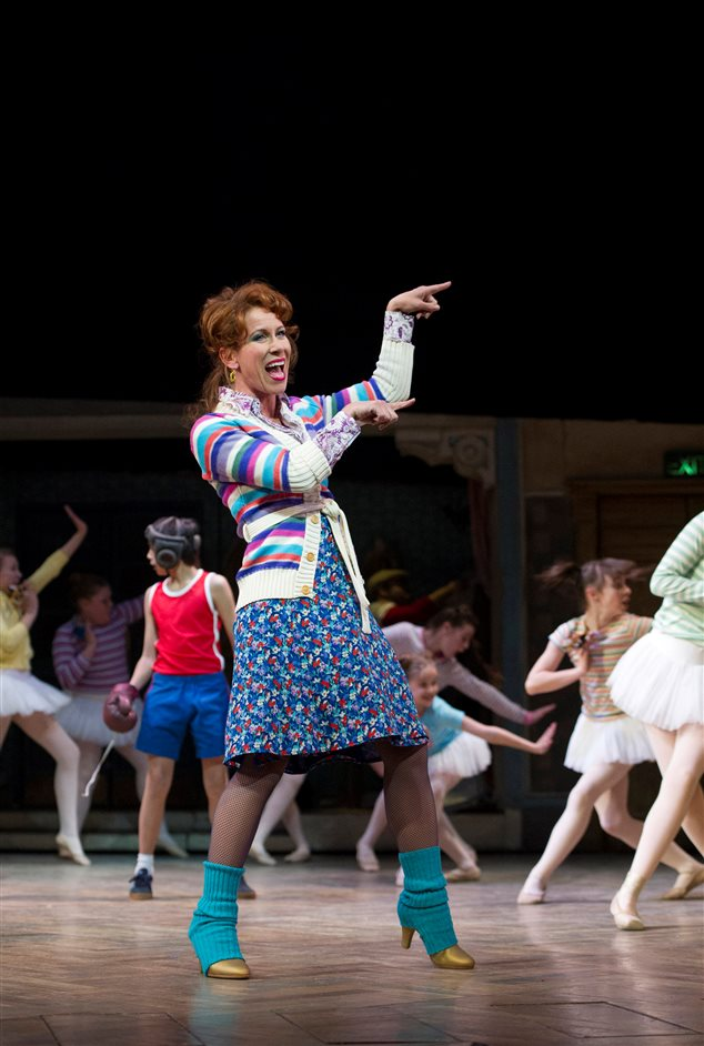 Billy Elliot - Mrs Wikinson (Anna-Jane Casey) by Alastair Muir
