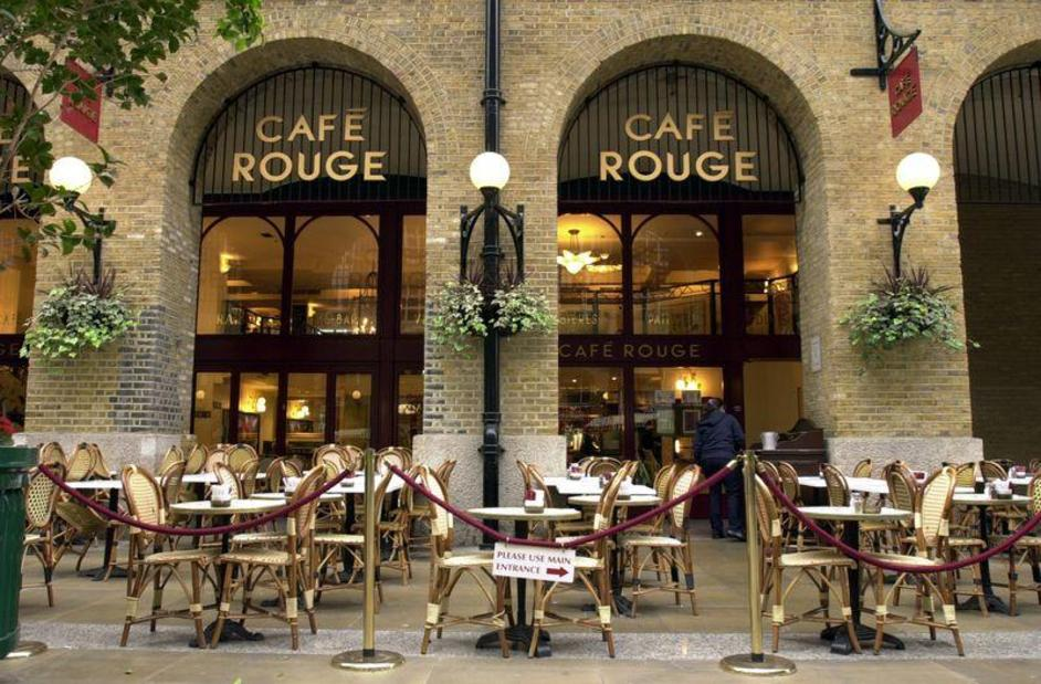 Cafe Rouge Hays Galleria Tooley Street