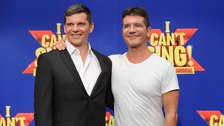 I Can't Sing! - Nigel Harman and Simon Cowell at the I Can't Sing launch