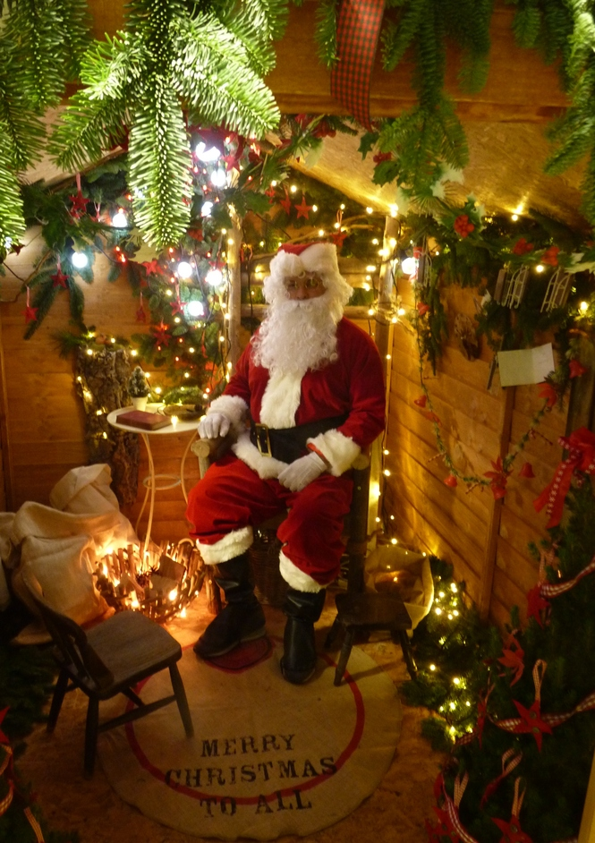 w6 christmas grotto at west six garden centre london