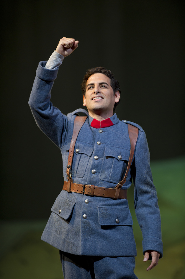 Royal Opera: La Fille Du Regiment - Juan Diego Flórez as Tonio © Bill Cooper