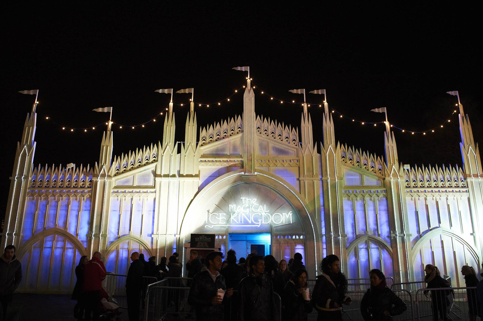hyde park winter wonderland ice kingdom