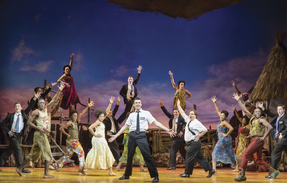 The Book of Mormon - The Book of Mormon London. Photo by Johan Persson, 2013