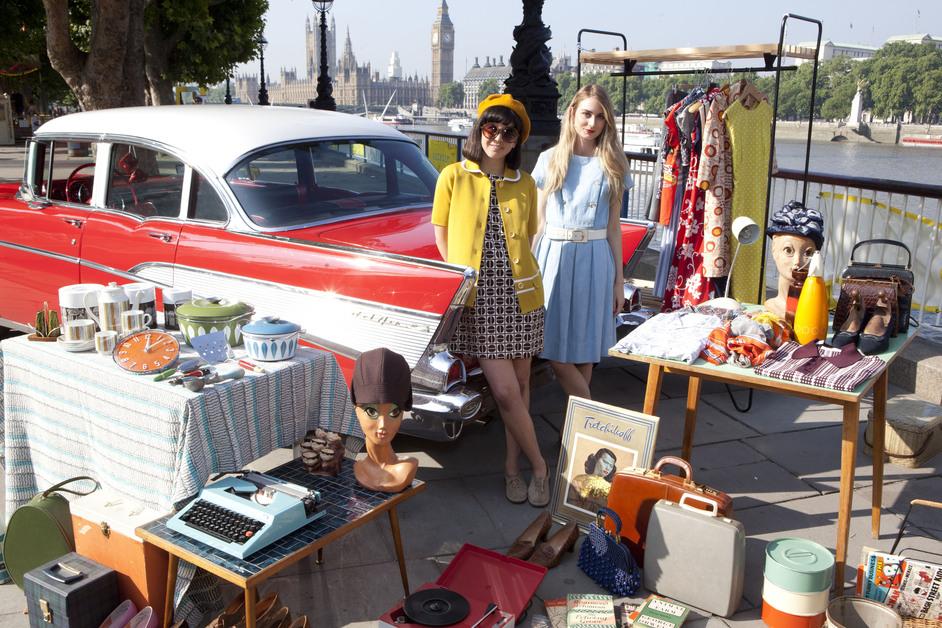 Classic Car Boot Sale Images South Bank London Londontown Com