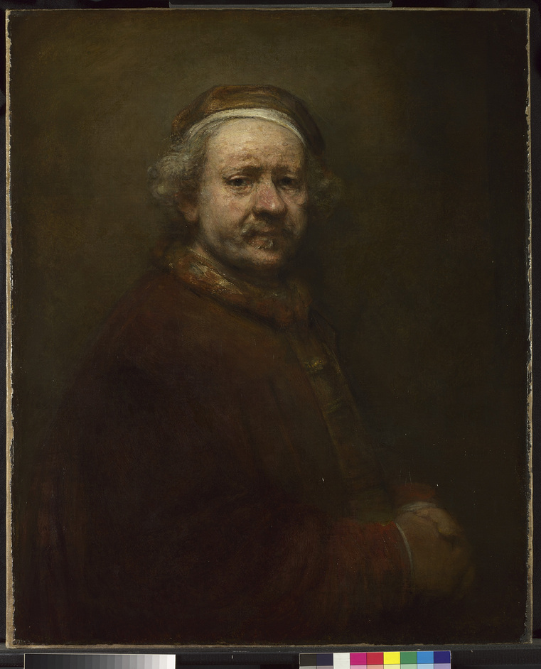 Rembrandt: The Late Works - Self Portrait at the Age of 63, Rembrandt, 1669 © The National Gallery, London