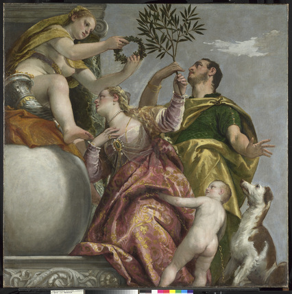 Veronese: Magnificence in Renaissance Venice - Happy Union, Paolo Veronese, about 1575 © The National Gallery, London