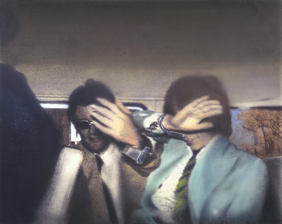 Richard Hamilton - Richard Hamilton (1922-2011) Swingeing London 67 (f) 1968-9 Aluminium and metalised acetate on canvas Tate � The estate of Richard Hamilton