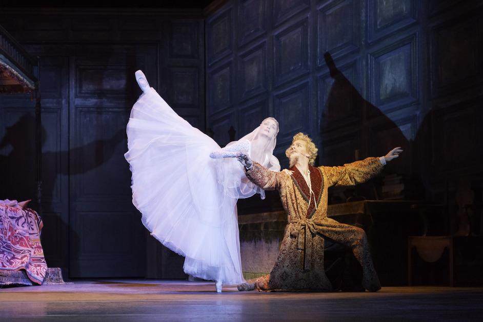 The Royal Ballet: Don Quixote - Christopher Saunders as Don Quixote, Christina Arestis as Dulcinea © ROH / Johan Persson 2013