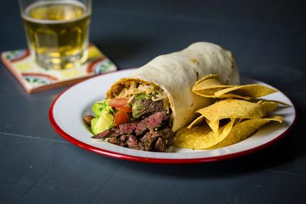 Yalla Yalla - Steak Burrito
