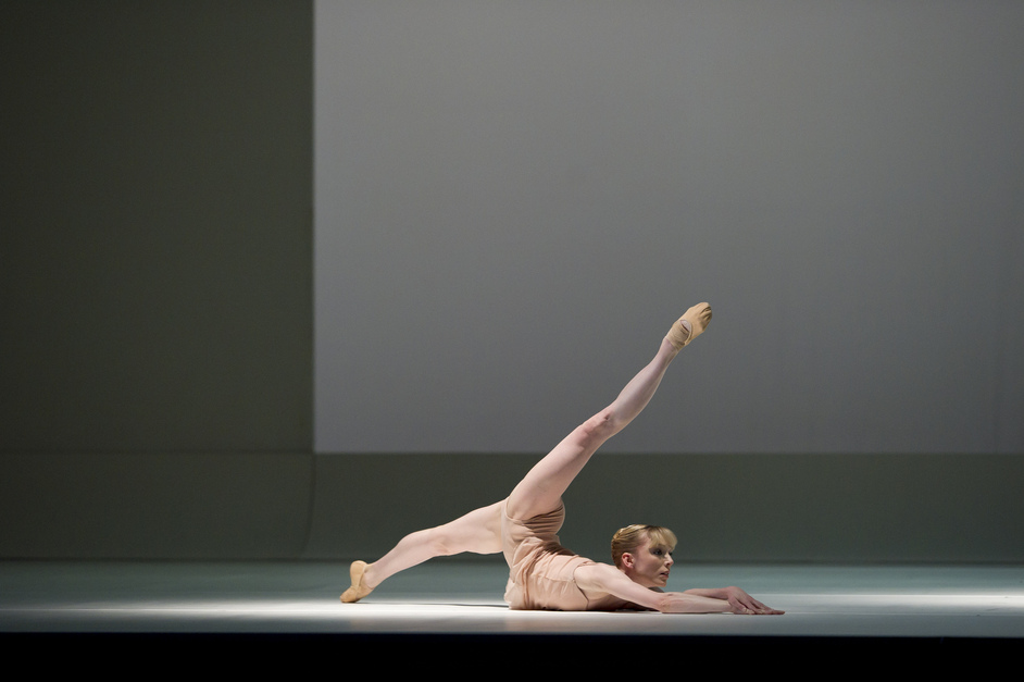 The Royal Ballet: Chroma/The Human Seasons/The Rite Of Spring - Sarah Lamb in The Royal Ballet's Chroma. Photo by Bill Cooper, courtesy ROH