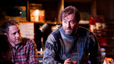The Weir - Ardal O'Hanlon in The Weir at Donmar, 2013 by Helen Warner