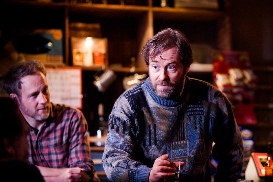 The Weir - Ardal O'Hanlon in The Weir at Donmar, 2013. Photo by Helen Warner