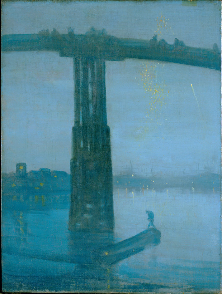 An American in London: Whistler And The Thames - Nocturne: Blue and Gold - Old Battersea Bridge, James Abbott McNeill Whistler �Tate, London 2012