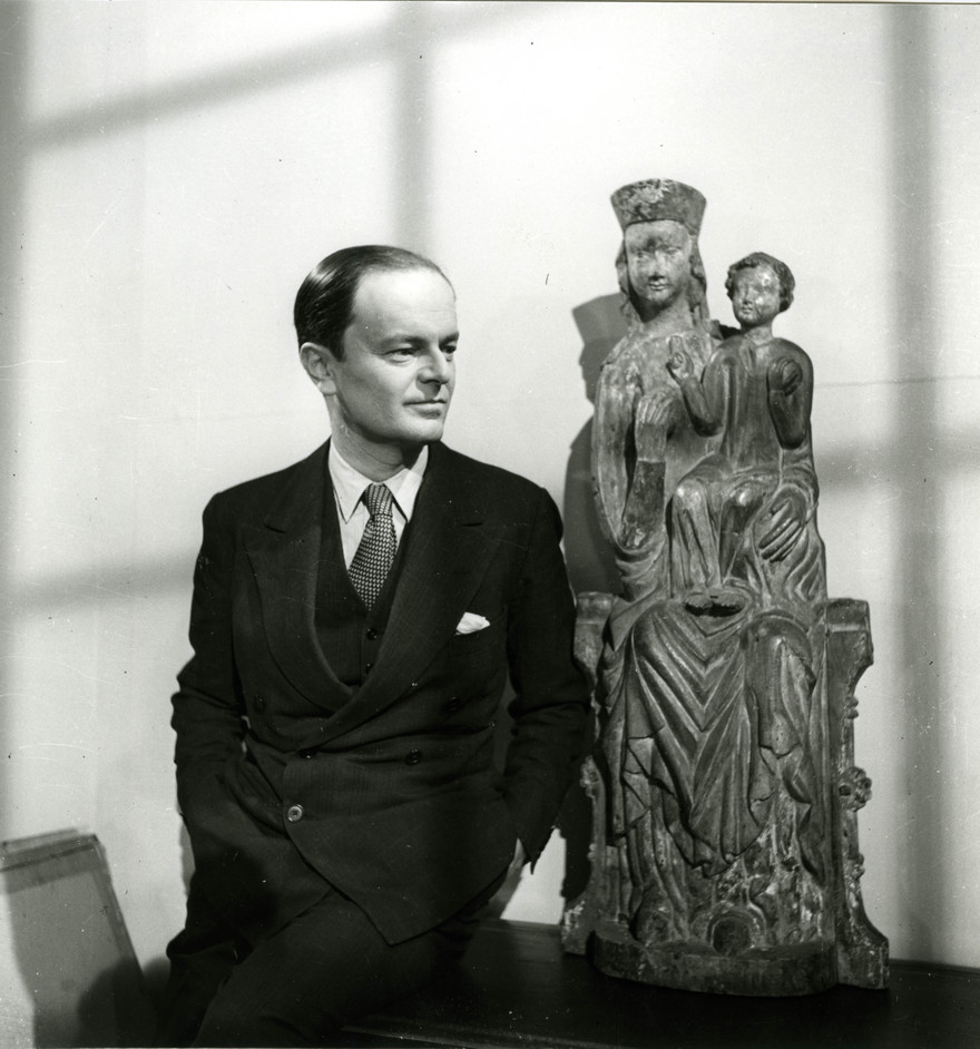 Kenneth Clark - Kenneth Clark at the National Gallery © Tate archive Photo: William MacQuitty